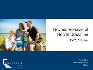 Nevada Behavioral Health Utilization