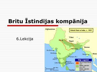 Britu Istindijas kompanija