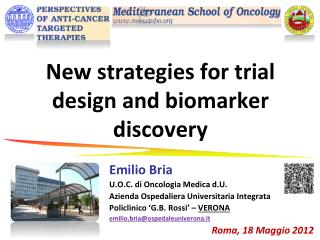 New strategies for trial design and biomarker discovery
