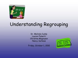 Understanding Regrouping