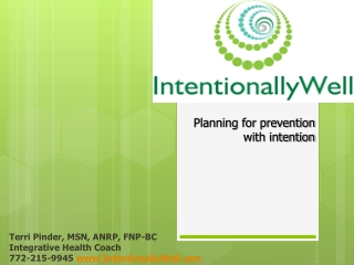 Intentionally Well Collaborating physician