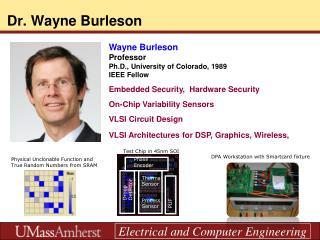 Dr. Wayne Burleson