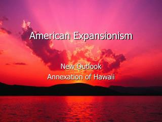 American Expansionism