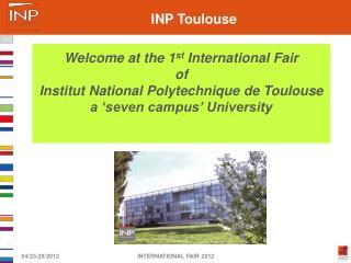 INTERNATIONAL FAIR 2012