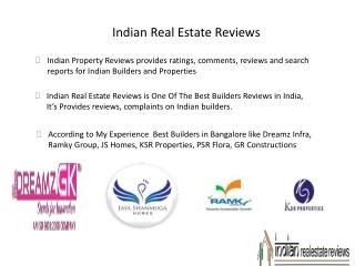 Real Estate Reviews, Complaints