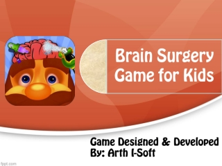 Brain Surgery Game for Kids