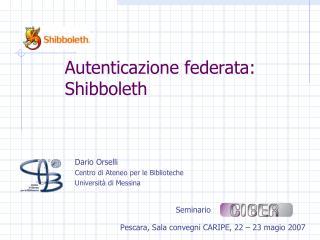 Dario Orselli  Centro di Ateneo per le Biblioteche Universit  di Messina