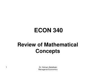 ECON 340
