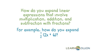 Use the Commutative, Associative, and Distributive Properties to simplify expressions.  Combine like terms.