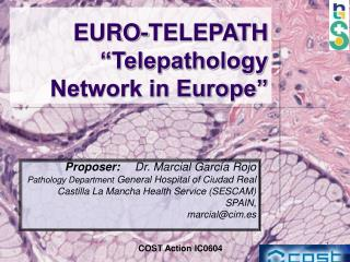 EURO-TELEPATH  Telepathology Network in Europe