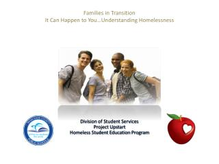 Families in Transition It Can Happen to You Understanding Homelessness