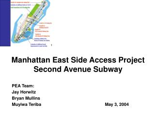 Manhattan East Side Access Project Second Avenue Subway