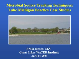 Microbial Source Tracking Techniques: Lake Michigan Beaches Case Studies