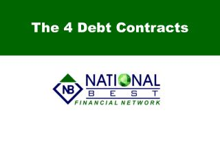 The 4 Debt Contracts