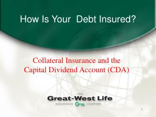 How Is Your  Debt Insured
