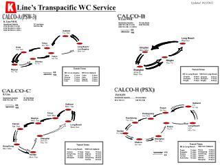 Line s Transpacific WC Service