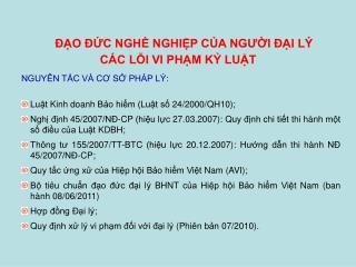 NGUY N TC V  CO S PH P L :  Lut Kinh doanh Bo him Lut s 24