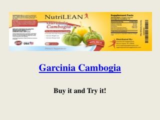 Garcinia Cambogia Lean