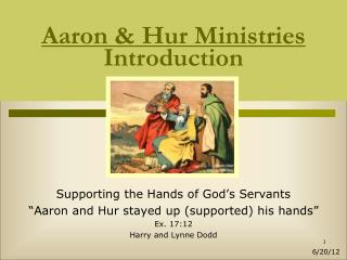 Aaron  Hur Ministries