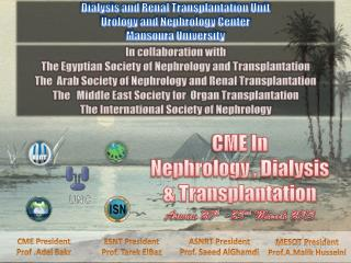 CME In Nephrology , Dialysis   Transplantation