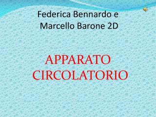 Federica Bennardo e  Marcello Barone 2D