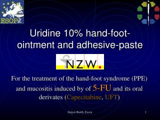 uridine 10 hand-foot-ointment and adhesive-paste
