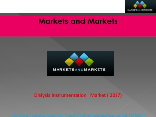 Dialysis Instrumentation Market worth $83.21