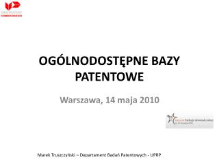 OG LNODOSTEPNE BAZY PATENTOWE