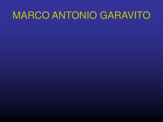MARCO ANTONIO GARAVITO