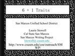 6  1 Traits