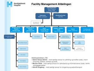 Facility Management Afdelingen