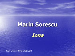 Marin Sorescu