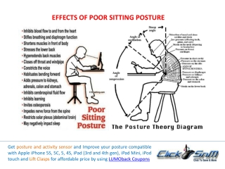 Lumoback Posture Sensor Benefits and Offers