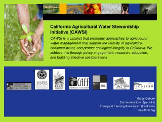 California Agricultural Water Stewardship  Initiative CAWSI