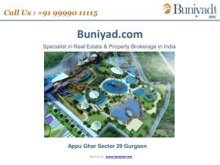 APPU GAHR GURGAON | CALL   91 99990-11115