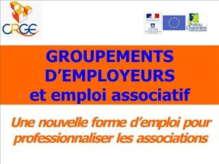 groupements d employeurs  et emploi associatif