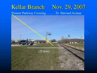 Kellar Branch     Nov. 29, 2007