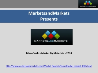 Microfluidics Market By Materials - 2018