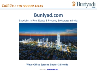 Wave Office Spaces Noida