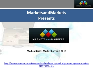 Medical Gases Market Forecast 2018