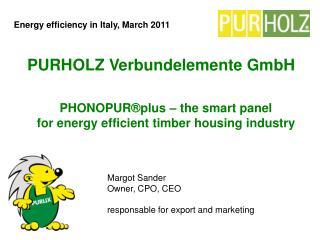 PURHOLZ Verbundelemente GmbH