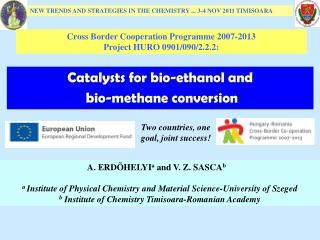 Catalysts for bio-ethanol and  bio-methane conversion
