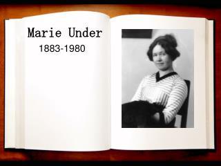 Marie Under