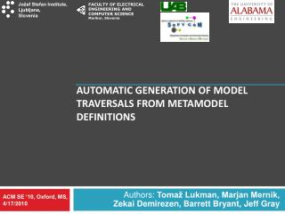 Automatic Generation of Model Traversals from Metamodel Definitions
