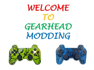 All about Game Mods Xbox One Controller