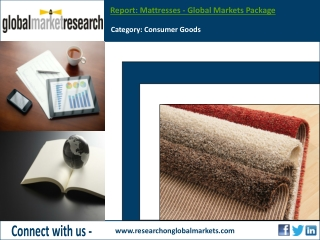 Mattresses - Global Markets Package | Research Report