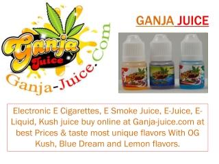 Ganja Juice - Sampler Packs