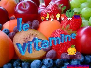 Le vitamine sono micronutrienti fondamentali per la corretta fisiologia del corpo umano. Dal punto di vista chimico, si