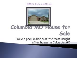 columbia mo house for sale