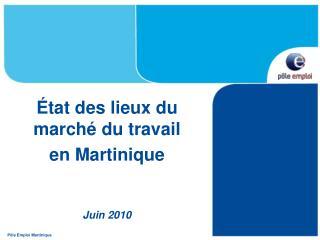P le Emploi Martinique